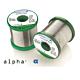 Alpha 51017. Припой проволочный ALPHA SN63PB37 FT2002 0.75мм 0.5кг 1 core 1,4