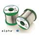 Alpha 51247. Припой проволочный ALPHA SN63PB37 SMT0,75мм 0.5кг 1 core 1,1